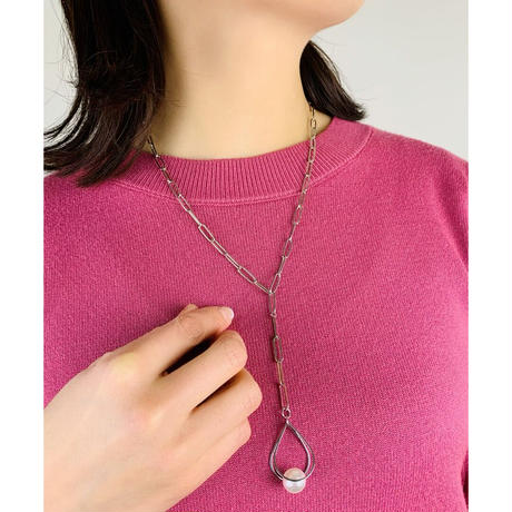 HAKUA  swarovski  long chain necklace