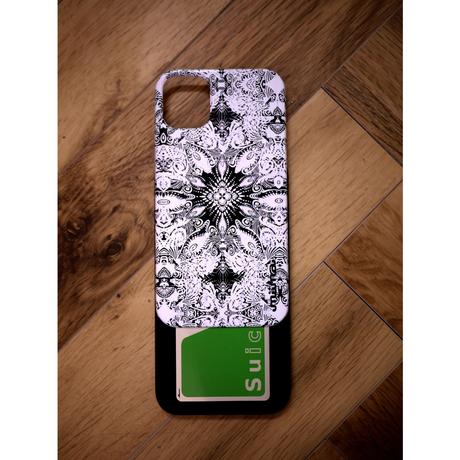 ≫  iPhone11,11Proケース(ミラー付&カード収納&耐衝撃)★FLY-BK