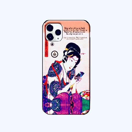 ≫  iPhone11/11Pro/11ProMax Maxケース★UKIYE-音/波 2design