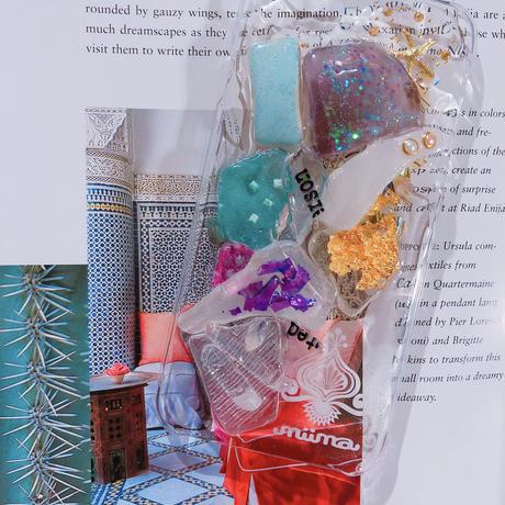 一点物 ≫ Handmade iPhone6,6s ,7★シーグラスケース-001