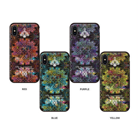 ≫  iPhoneケース★MANDALA -4color