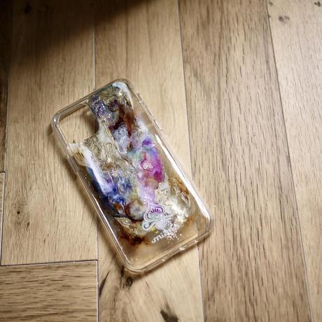 1点物≫ Handmade painting iPhone11pro 耐衝撃ケース★2020-003