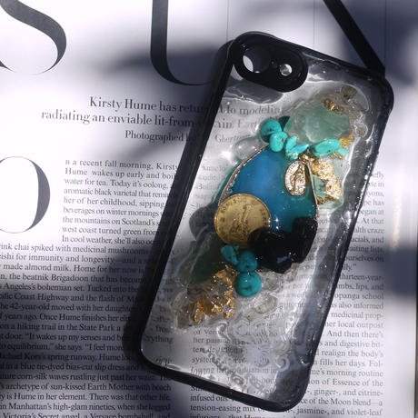 1点物≫ Handmade  SN Heart iPhone8/iPhone7用ケース★2019-002