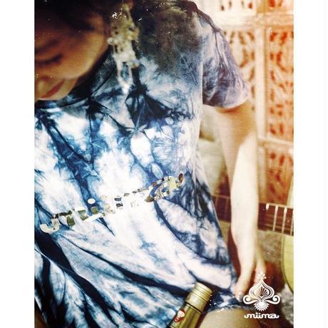【個数限定】藍染Tシャツ(S~XL)  ≫miima&BOND&JUSTICEコラボ企画