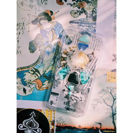 1点物≫ Handmade iPhoneX,XSケース★2019-006