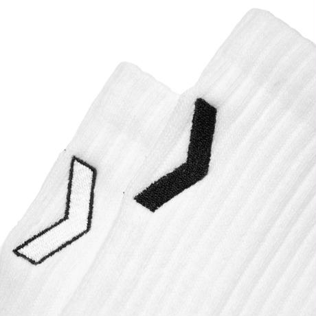 MIKAKUS AMERIB WHITE SOCKS S1