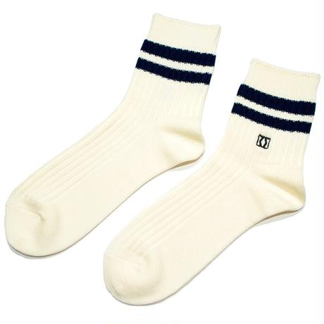 MIKAKUS  SHORTLINE WHITE SOCKS S4