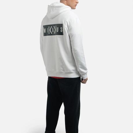 MIKAKUS HOODIE WHITE A5