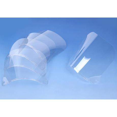 ベーシック用フェイスシールド(5枚入)(交換用 高さ150mm)/ M-SHIELD-5