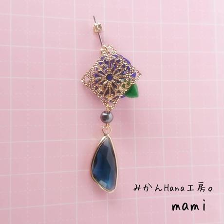 【mm004】大人かわいいリッチなピアス [イヤリング金具変更可](パピエル)