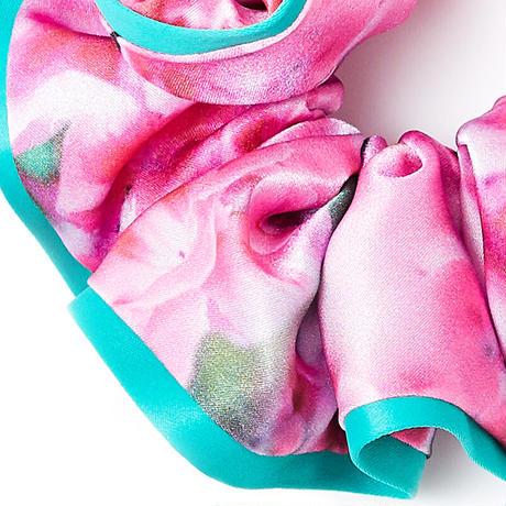 シュシュ(パイピング)| Pink Cyclamen