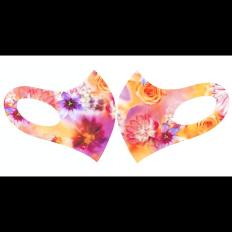 マスク   Coral Bouquet