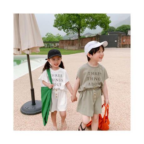 男の子と女の子のための2ピースの服,子供服,バケツシャツ,ノースリーブのTシャツ,ワイドレッグショーツ