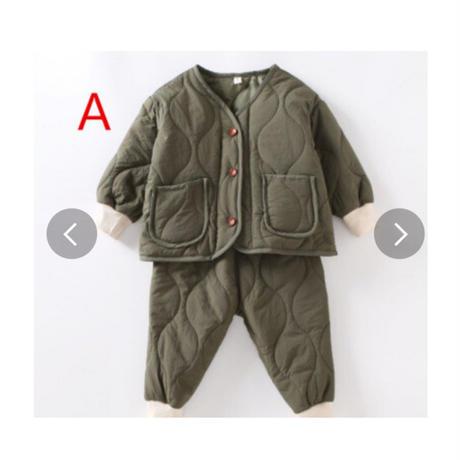【秋冬サイズ90cmから100cm】2020新モデル冬 綿入れ 2点セット 可愛い 子供服