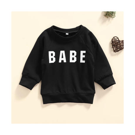 秋の長袖ベビースウェットシャツ,文字がプリントされたカジュアルな子供服,0〜3歳