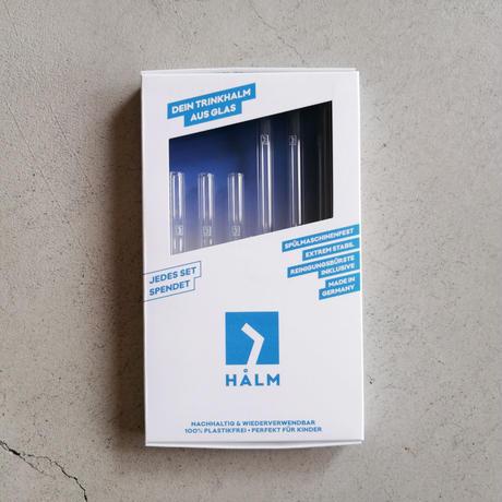 HALM ガラスストロー ストレート 6本セット
