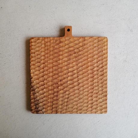 チーク カッティングボード 正方形
