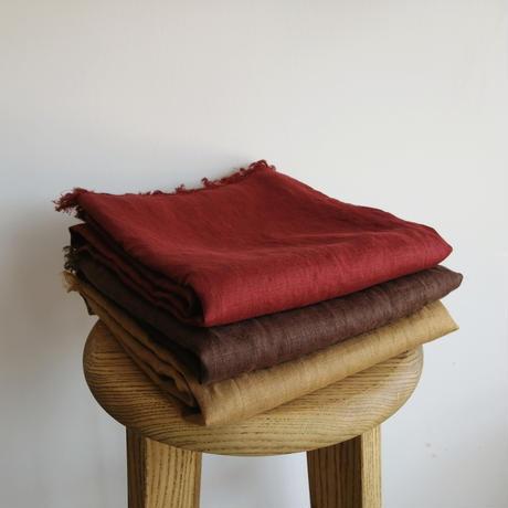 fog linen work スカーフ  red