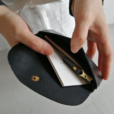 FAUCON Leather Wallte ブラック