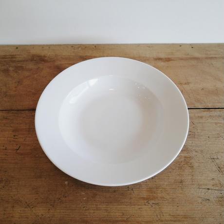 白磁のお皿 9スープボウル
