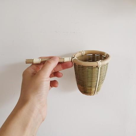 竹の茶こし 中