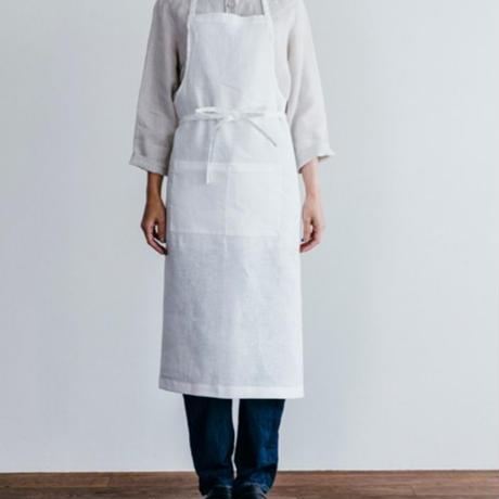 fog linen work エプロン ホワイト