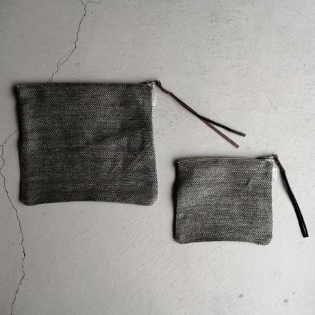 fog linen work カンナポーチ L ヘリンボーン
