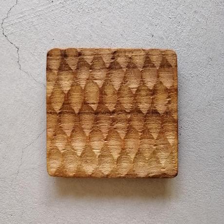 チーク コースター 四角型