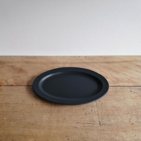 SAKUZAN Sara Oval M (楕円皿) ブラック