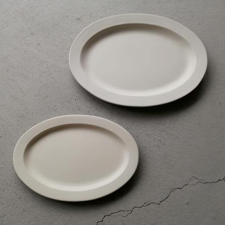SAKUZAN Sara Oval M (楕円皿) クリーム