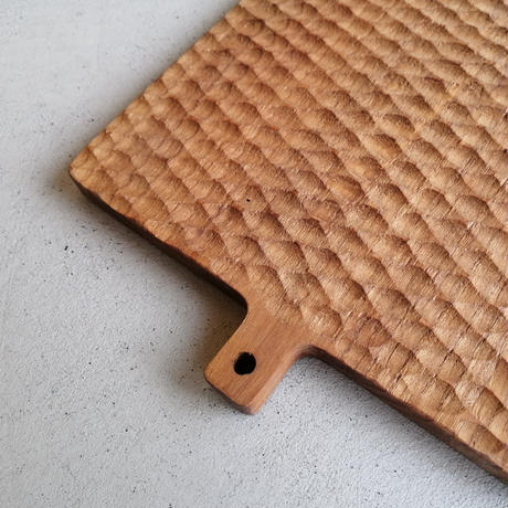 チーク カッティングボード 長方形 L