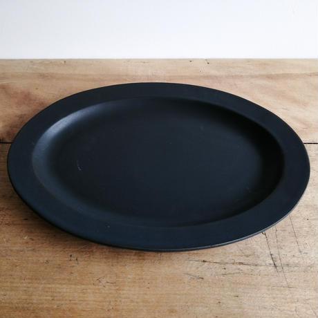 SAKUZAN Sara Oval L (楕円皿) ブラック