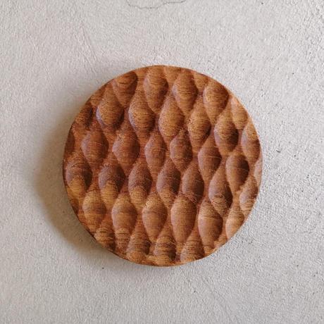 木のコースター 丸型