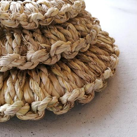 藁の鍋敷き 小