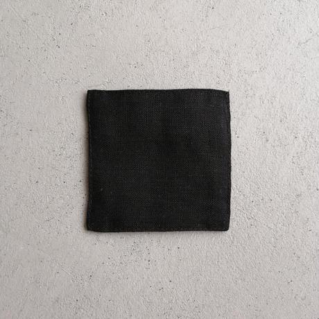 fog linen  work リネンコースター ブラック