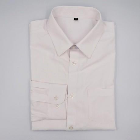 ドビー織ホワイトシャツ