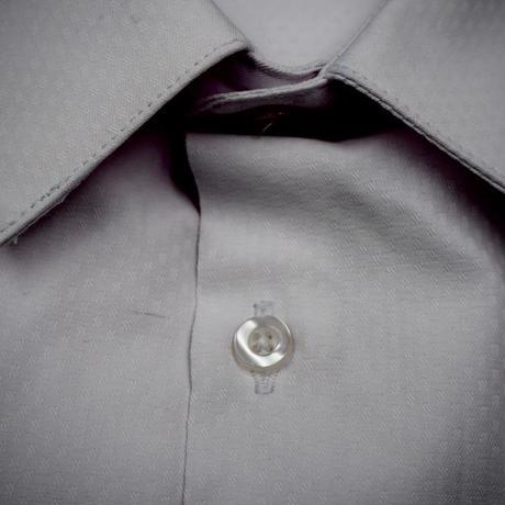 ドビー織ホワイトシャツ(1)