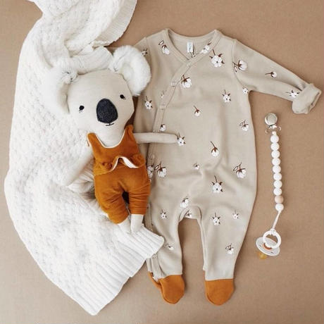 【organic zoo】Cottonfield Suit with contrast feet