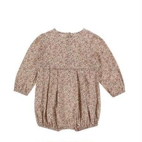 残り1【little cotton clothes】constance romper pink floral