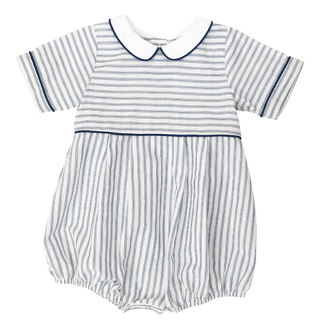 【little cotton clothes 】Romi romper blue
