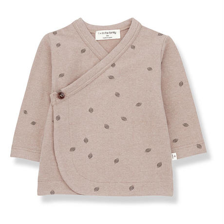 【1+ in the family 】 Peguera Wrap Vest  - rose