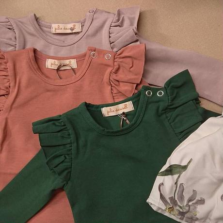 【Julie dausel】Bodysuit wings long sleeves – Else LS – green