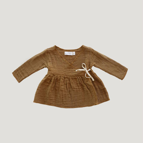 【Jamiekay】Wrap Top - Bronze