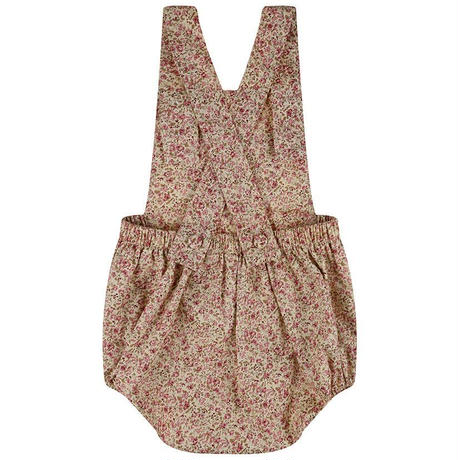 【little cotton clothes】Whitby Romper - vintage rose floral