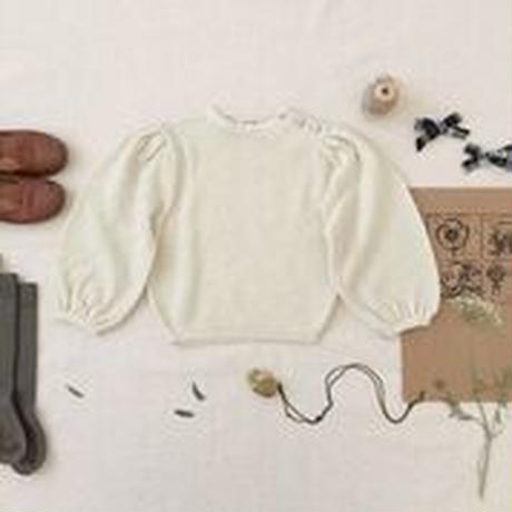 【SOOR PLOOM】Agnes Sweater, Natural