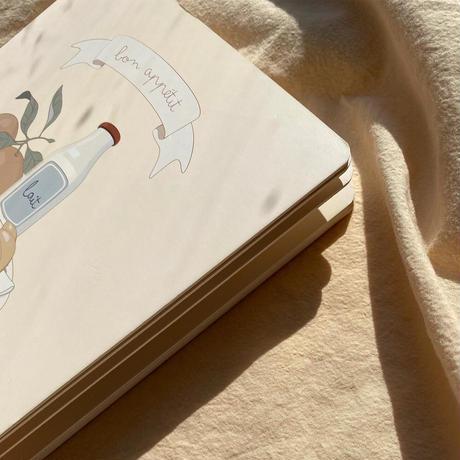 【Konges sloejd 】BON APPETIT BOOK