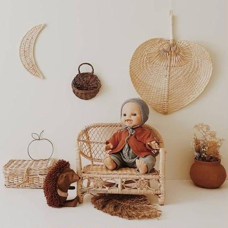 【coconeh】Natural Doll/Plush Bench