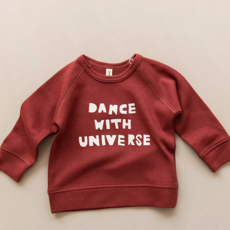 【organic zoo】BURGUNDY JERSEY DANCE WITH UNIVERSE
