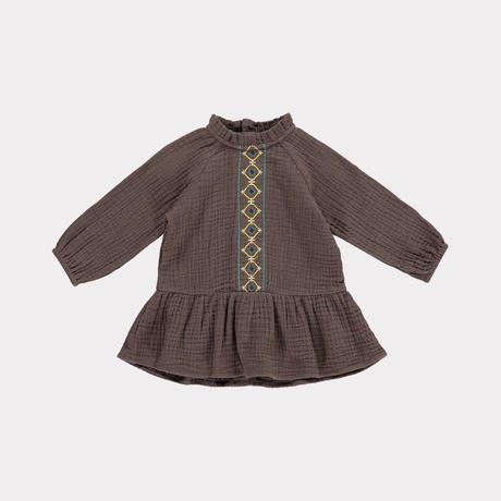 【happyology】Cassie  Dress, Chocolate