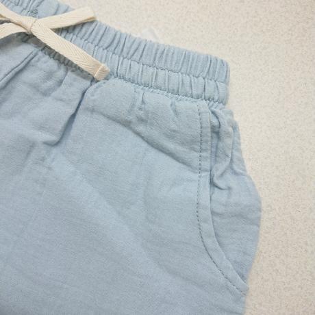 【Liilu】Tudor shorts_Dusty blue_